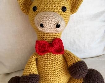Giraffe Handmade/Crocheted Stuffed Toy