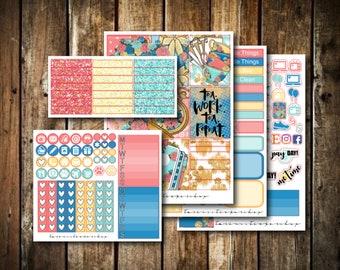 Tea Time // MINI KIT // Weekly Planner Sticker Kit (120+ Stickers)