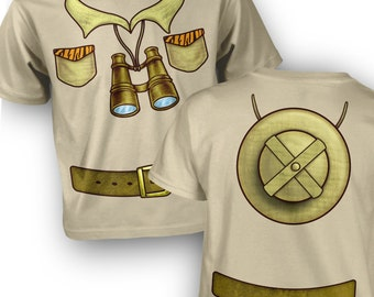 Safari Explorer Costume kids t-shirt
