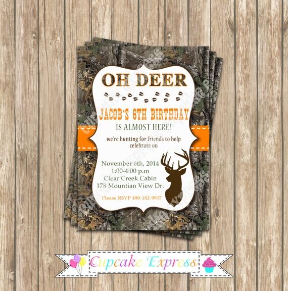 Camo realtree hunting food labels PRINTABLE Food Labels favor   Hunting Party Printables