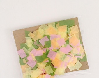 Confetti -Tissue Paper - ANY COLOR you choose