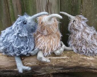 Kiwi bird stuffed animal, Kiwi bird plush,  Kiwi bird toy, amigurumi Kiwi bird, knit Kiwi bird, Kiwi bird doll, huggable Kiwi, made to order