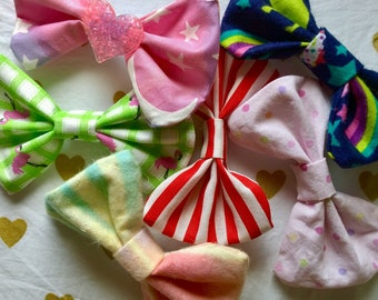 Mid-size hair bows