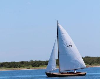 Nantucket Sailboat print