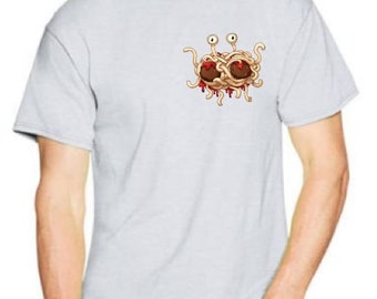 The Flying Spaghetti Monster Pastafarianism Graphic Tee