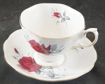 Royal Albert Fine Bone China Cup & Saucer SWEET ROMANCE