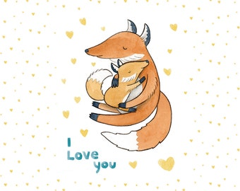 I Love You Foxes