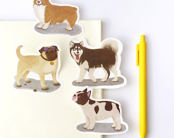 Adorable Doggy Sticky Note SN1141DG