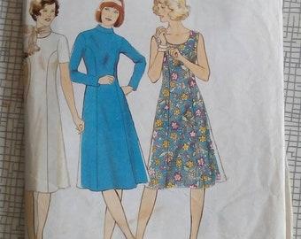 1970er Jahre Kleid - Multi-Format - Maudella 5895 - Schnittmuster