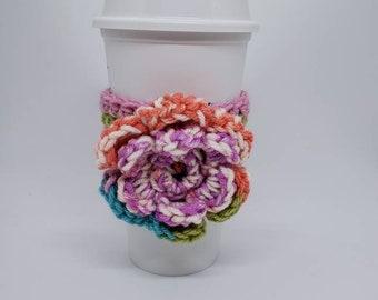 Cup Cozy. Cup Sleeve. Coffee Cozy. Coffee Sleeve. Tea Cozy. Free Shipping.