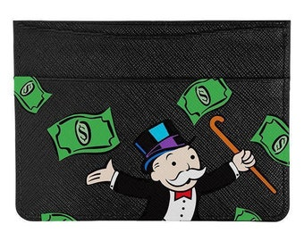 Monopoly Man Card Holder Wallet