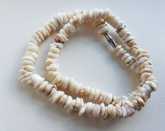 Tiger Puka Shell Necklace