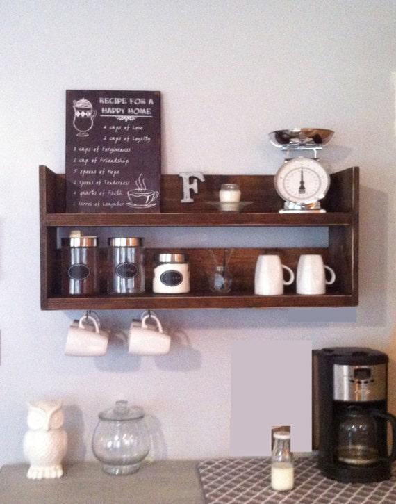 Elegant Reclaimed Wood Coffee Bar