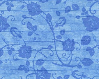 Bohemian Blues from Timeless Treasures By Judy and Judel Niemeyer JN C5774 Aqua