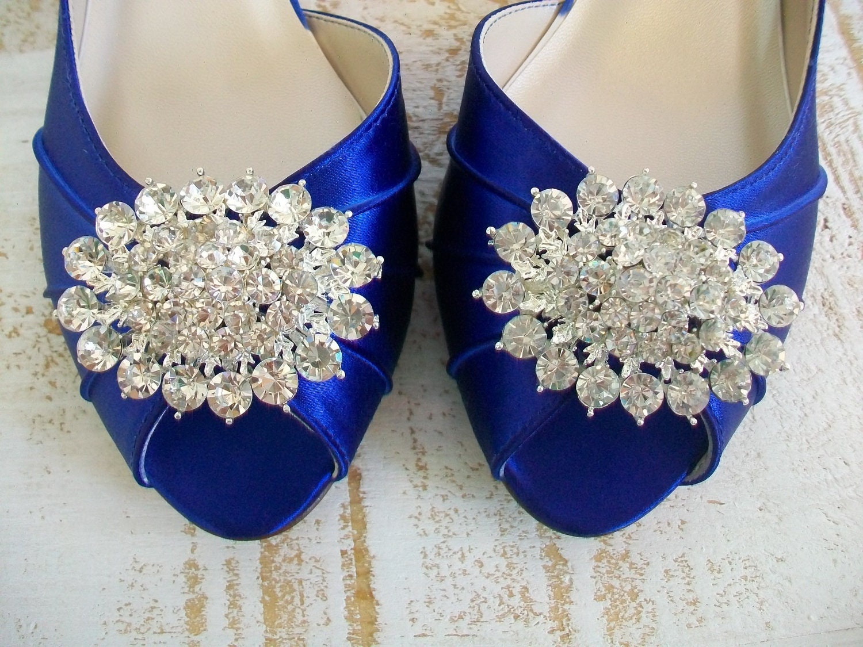 Wedding shoes blue wedding shoes handmade wedding shoes zoom junglespirit Gallery
