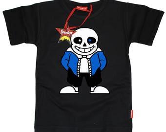 Stardust Ethically Made Undertale San Skellington Kids T-Shirt Gift