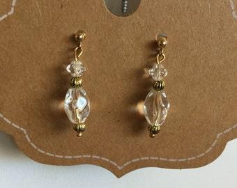E0013-51 Steampunk Earrings