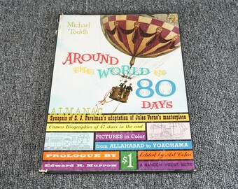 Around The Worlds In 80 Days By Michael Todds 1956