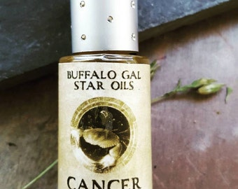CANCER Zodiac Star Oil // Astrology Aromatherapy for the Water Sign Cancer - The Crab // Essential Oil Perfume