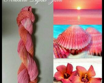 Hawaiian Sunset hand-dyed cotton yarn