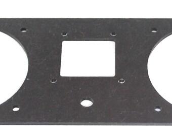 Mini Pi Rack two speaker faceplate