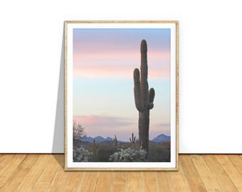 Desert Print, Cactus Print, Desert Art Photography Digital Download, Printable Art, Cactus Wall Art Photo, Southwestern Decor, d1c1c2