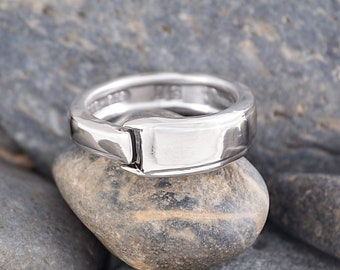 Silverware Handle Ring (Spoon Ring) Size 14 1/4 SR106