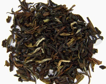Organic Darjeeling tea (1st flush) black tea, green tea 50 cups