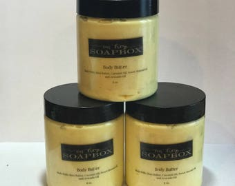 Whipped Shea Body Butter | Body Butter | Multiple Scents | Multiple Sizes