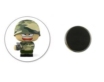 Military Grenadier - 25 mm Magnet magnet
