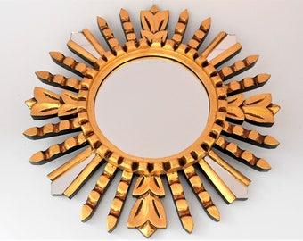 Sunburst Mirror Round Mirror Coastal Mirror Beach House Mirror Coast Mirror Sunburst Wall Mirror Beach Mirror Wall Decor Sunburst Wall Art