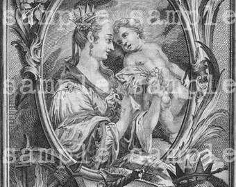 SALE Instant Digital Download > Antique Holy Religious Prayer Cards > Printable Religious Collage Sheet > Renaissance illustrations