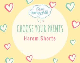 Harem Shorts - Choose Your Print