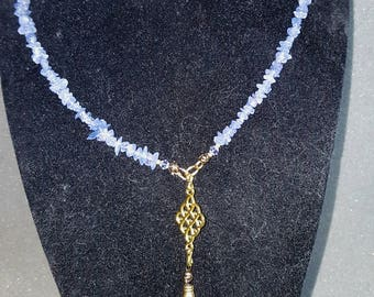 Genuine Tanzanite Necklace