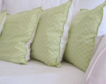 sale pillows, decorative pillows, pillow covers, kid pillow, green pillows, trellis pillows, 14 in pillow, 16 in pillow, chair pillow, decor