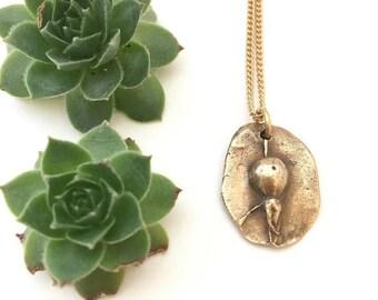 Rose Hip Necklace