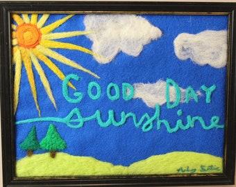 Good Day Sunshine - Wall Woolly