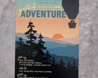 Greatest Adventure Baby Shower (printable PDF)