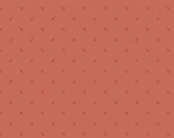 """Carmine red upholstery fabric decorations / Fat quarter / 50x110cm fabric / patchwork fabric / """"Jewelry"""" Andover collection"""