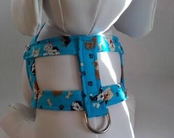 Custom Dog Harness -  Dog Harness - Dog Harnesses -Puppies - Custom Dog Harness  - Designer Dog Fashion - Small Dog Harness