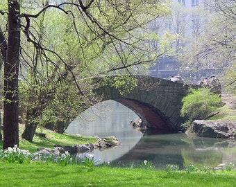 Central Park, New York City, Gapstow Bridge, Wall Art, Home Decor, New York Photography, Fine Art Print
