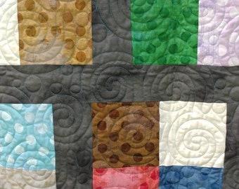 Grunge 4 patch quilt