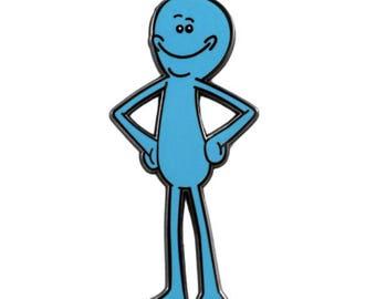 Mr. Meeseeks – Rick & Morty Enamel Pin