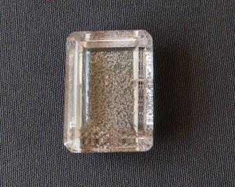 Lodolite - Phantom Quartz Faceted Stone