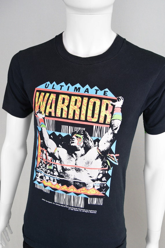 Rare WWE Wrestling Shirt Wrestling T Sportswear Graphic Print wwf 1990 Pro Vintage Super Wrestling Retro Ultimate Warrior Wrestlemania Shirt 10ppdw