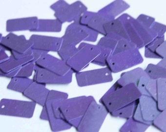 75 Sequins Purple rectangular sequins/KBRGS286