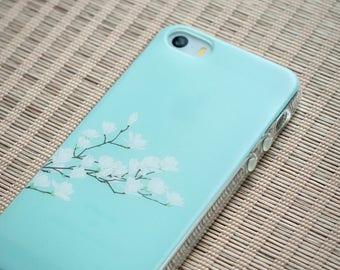 iPhone SE Case iPhone Case SE iPhone Case 5s iPhone 5s Case iPhone Case 5 - Floral Vintage - Nyucase - Slim Case TRANSPARENT or Opaque
