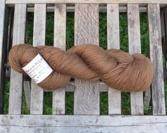 Walnut Hand Dyed Superwash Wool