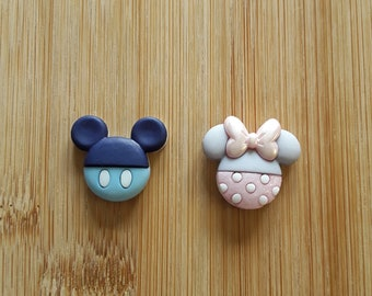 Baby Mickey and Minnie Mouse Needle Minders (Set of 2)