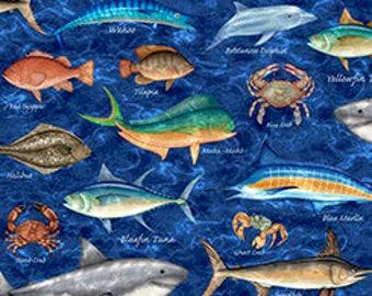 Pescado de muchas clases, tesoros que acolcha
